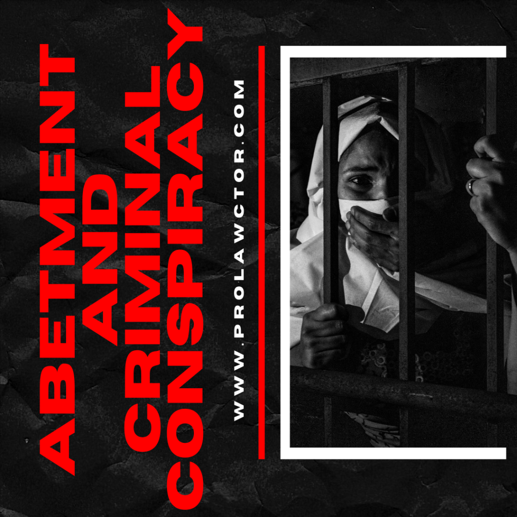 ABETMENT AND CRIMINAL CONSPIRACY |Section 107-120- Prolawctor