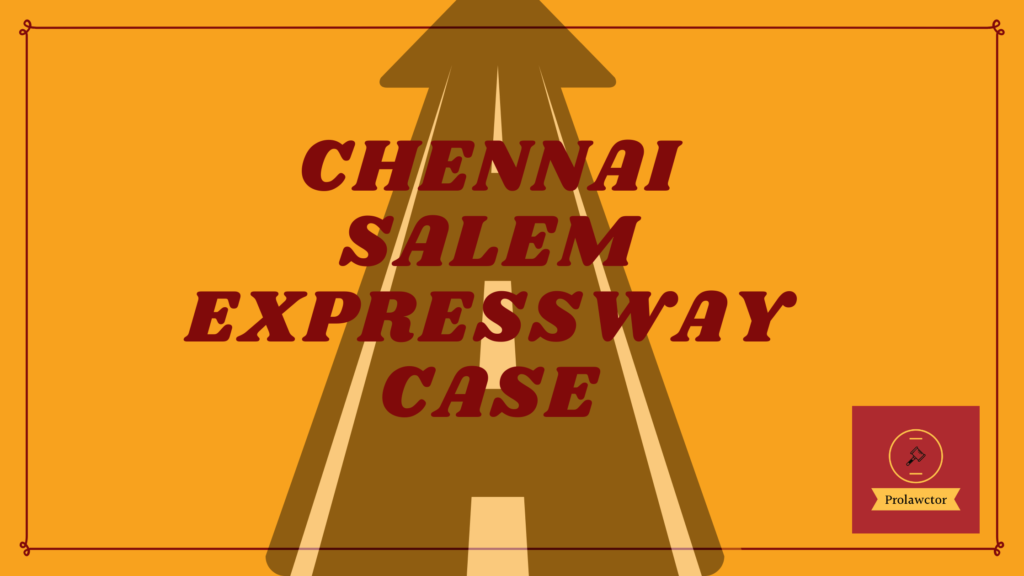 Its describes our blog on Chennai Salem highway