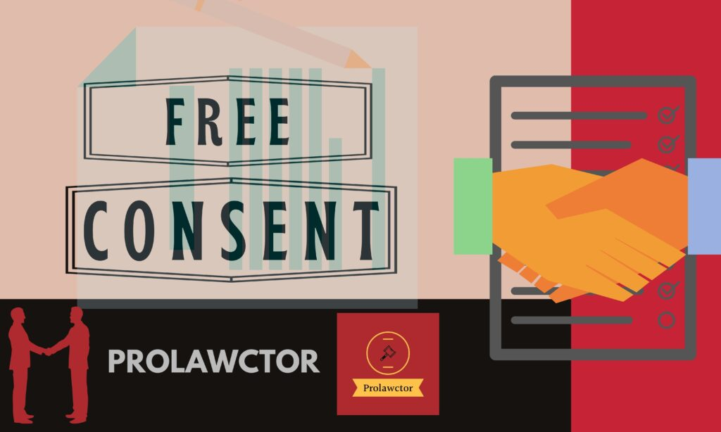 What is Consent and Free Consent