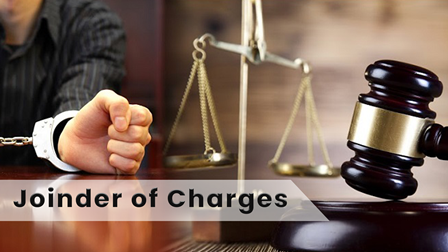 Joinder of Charges Under Crpc Section (218 - 223)