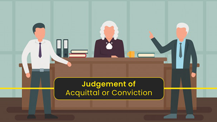 Judgment of Acquittal or Conviction: (Sec 235): The object of this provision is to acquaint the court with social and private data of the perpetrator and thereby to enable the court to decide as to the appropriate sentence in appreciate to the conviction.